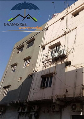crack filling waterproofing services